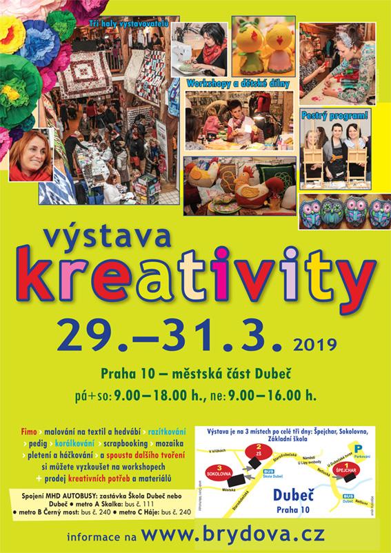 Kreativní Dubeč - jaro 2019